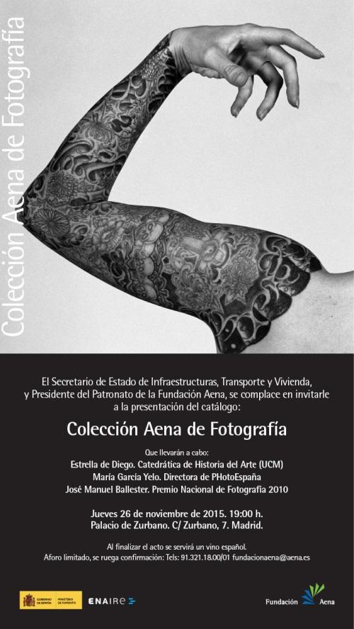INVITACIÓN CATÁLOGO FOTOGRAFIA